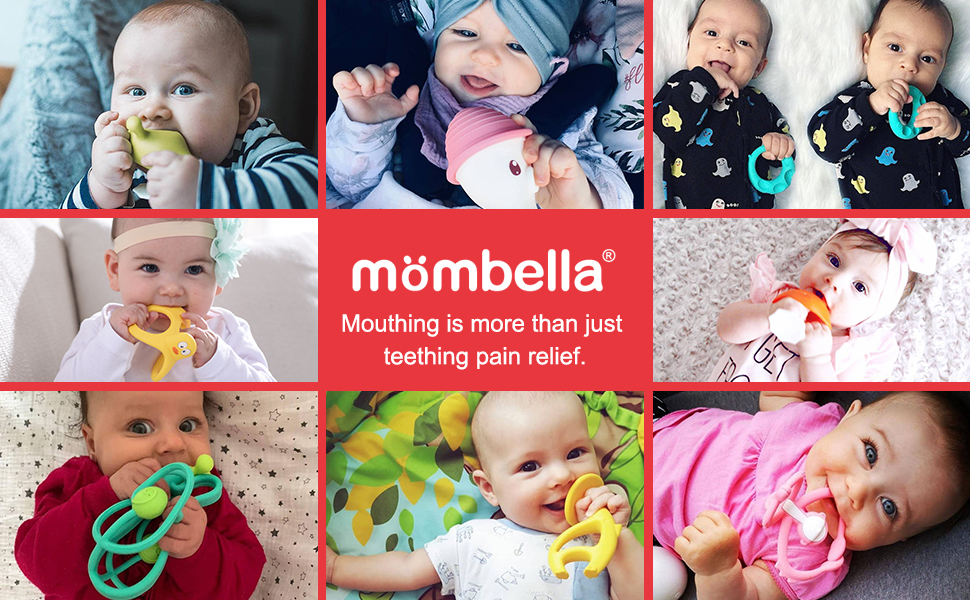 Mombella Baby Mouthing Toys