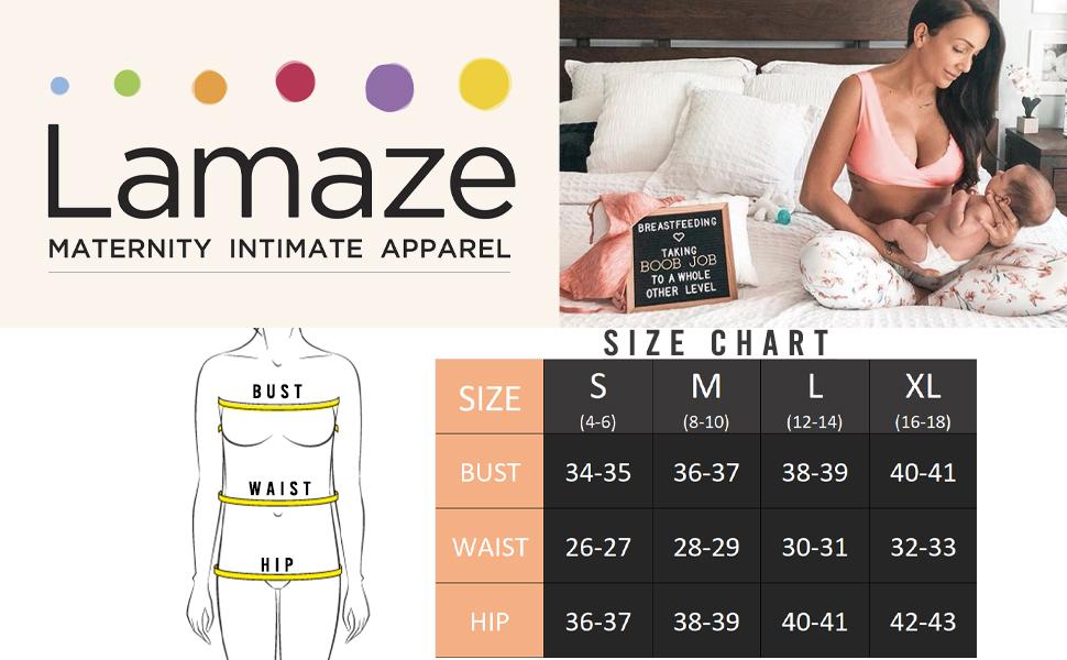 bras maternity nursing intimate women feeding bras baby size chart