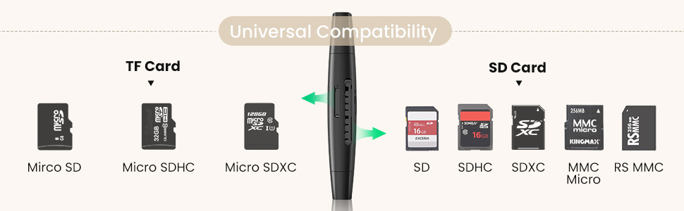 sd tf card reader