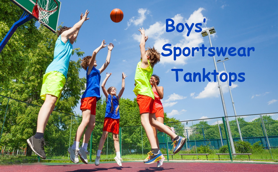 boys sports tanks
