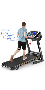 9028S Auto Incline Treadmill
