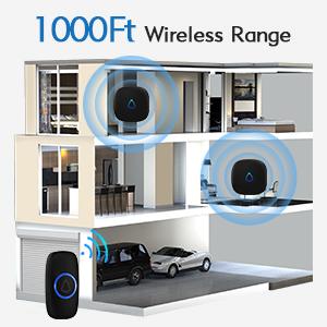 1000ft wireless range