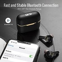 bluetooth wireless headphones touch
