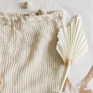 Mesh produce bags cotton