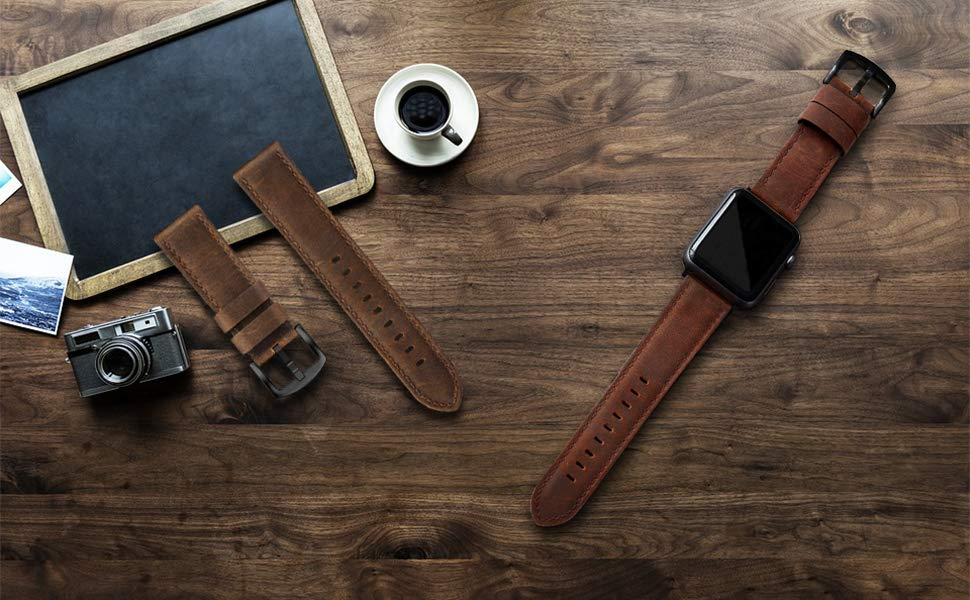 apple watch 42mm bands apple watch 44mm bands apple watch band leather Men