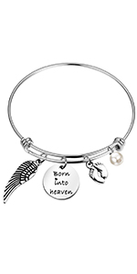 born into heaven bracelet