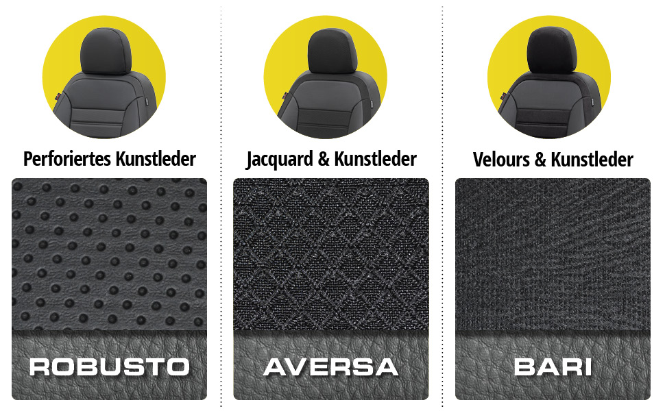 Walser Sitzbezug Robusto Schonbezug Kompatibel Mit Mercedes C Klasse Baujahr 07 2013 Heute 1 Rücksitzbankbezug Für Normalsitze Auto