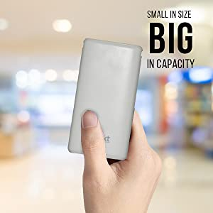 Large Capacity in Small Space
