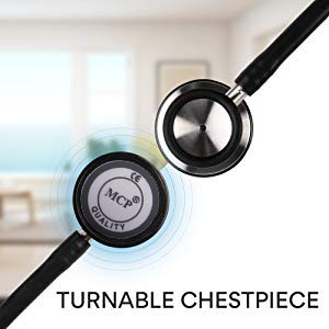 Mcp stethoscope dual head stainless steel stethoscope for doctor nurses medical students cardiology