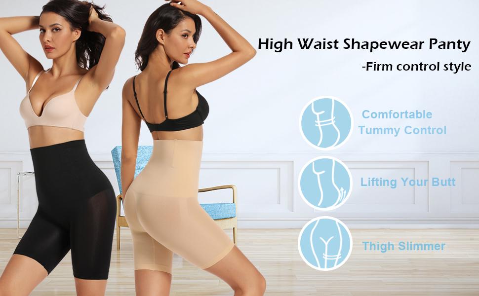 shapewear for women under dress shorts