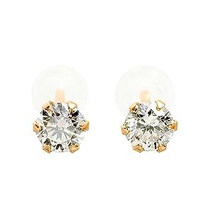 Sears 0.2ct Natural Diamond PT900 Platinum Diamond Pair Earrings