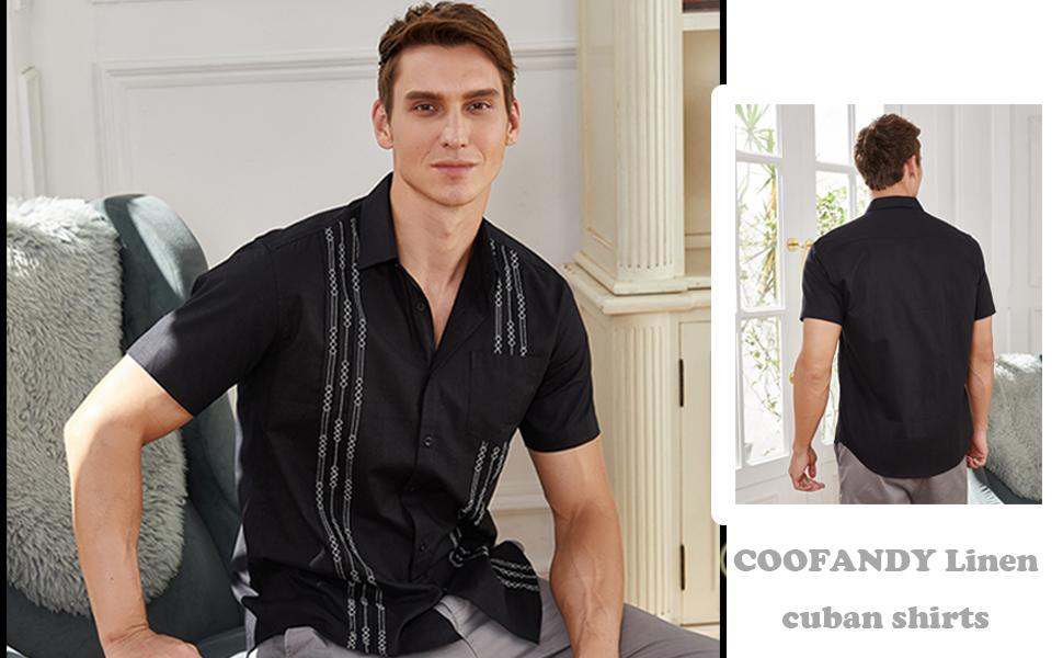 men cuban shirt