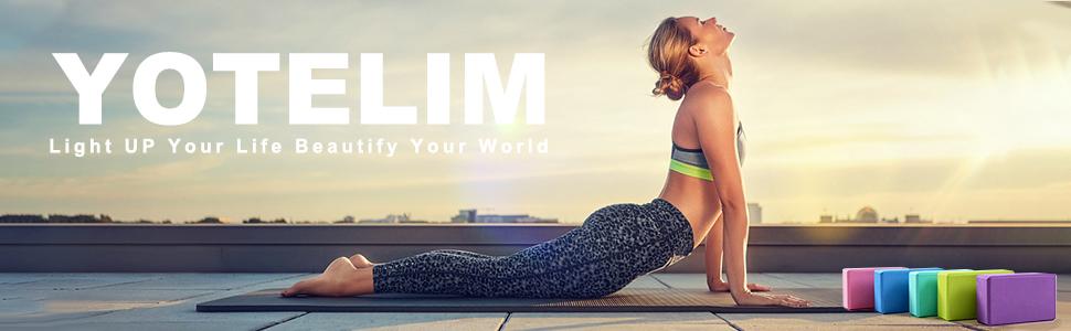 YoTelim Yoga Blocks
