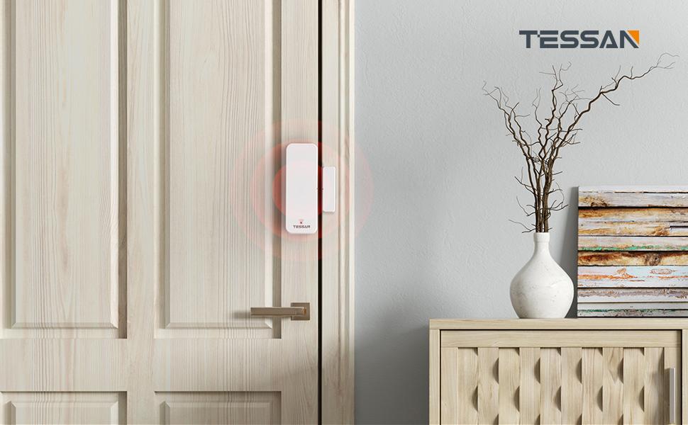 TESSAN wifi smart door sensor