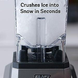 Crushes Ice