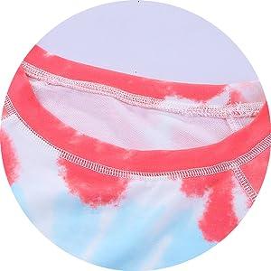 Pullover Tie Dye Sweatshirt Detail