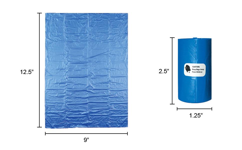 bag dimensions