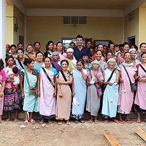 Happy Women Spinners of Meghalaya