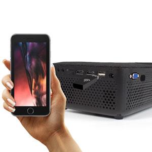 Projektor, Videoprojektor, Mini, Lumen, Leinwand, Wifi, HDMI, Bluetooth