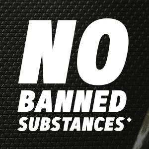 No banned substances