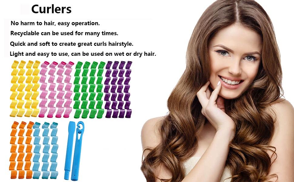 hair curlers tool kit