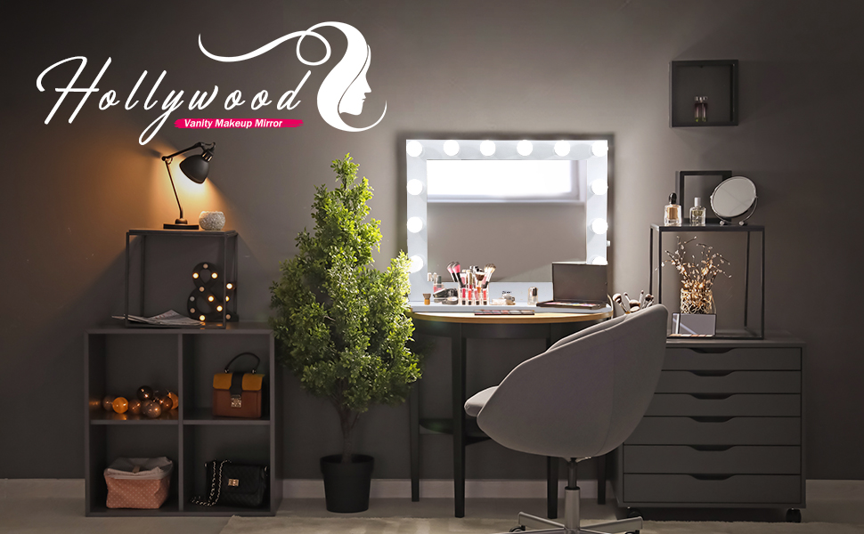 ZENY Hollywood Vanity Makeup Mirror with Light