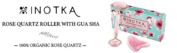 rose quartz roller gua sha jade roller face skin lymphatic drainage body massager aging