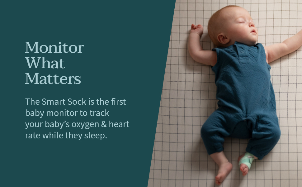 Owlet smart sock monitors what matters