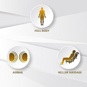 full body airbag roller massage