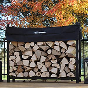 Woodhaven 5ft Firewood Rack