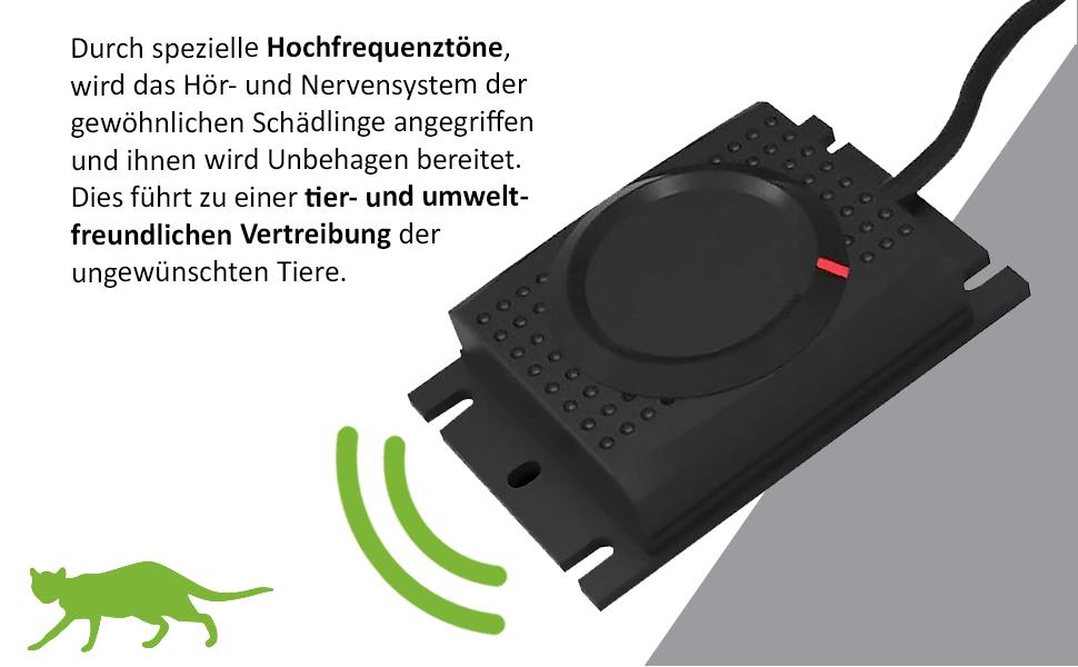 Isotronic anti martas para Coche protecci/ón con Alta frecuencia Tonos por ultrasonido