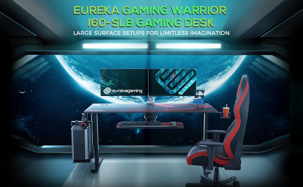 60in large gaming desk