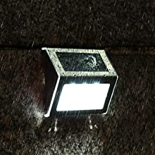 solar powered step lights