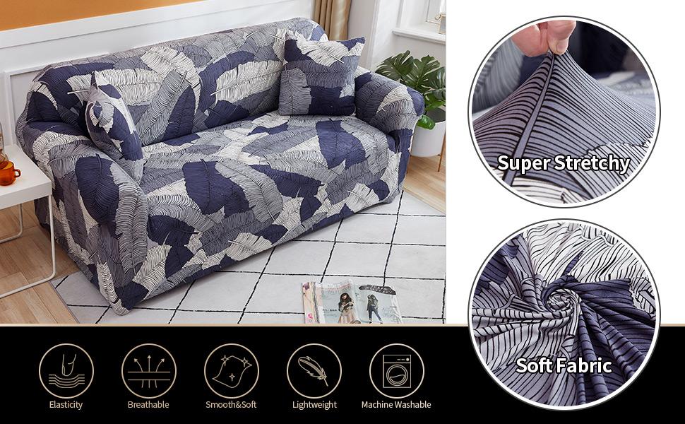 printed sofa slipcover