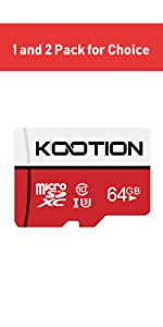 Amazon.com: KOOTION 32 GB Micro SD Card Ultra Micro SDHC ...