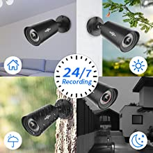 Indoor Outdoor Security Camera