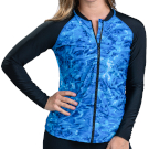 adult surf clothing women's swimsuits longsleeve swimwear protective tops sleeves swimshirt surfing