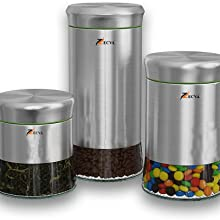 ZECVA Steel glass canister