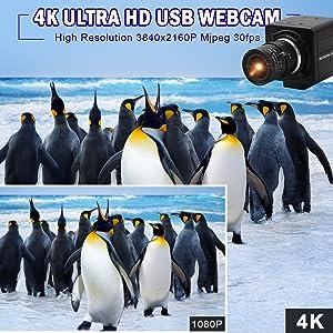 4K HDR USB CAMERA