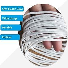 elastic cording for masks