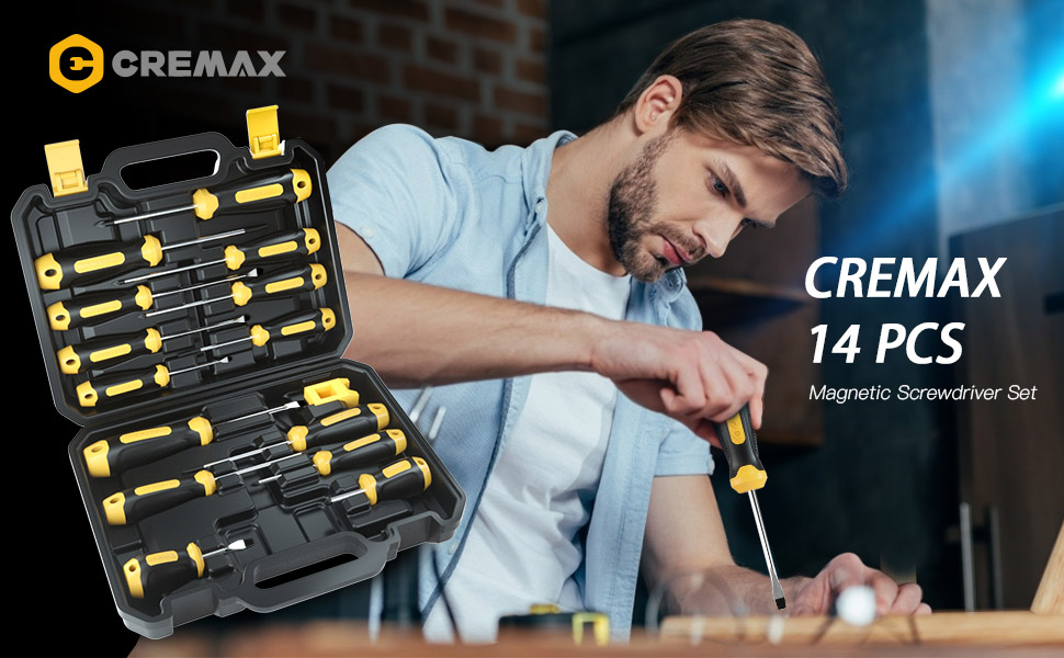 Cremax screwdriver set