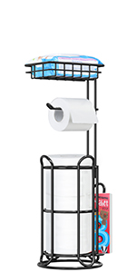 stand up toilet paper holder
