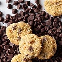 chocolate mini cookies, keto mini cookies, cookie, keto cookie, keto treat, keto dessert, keto snack