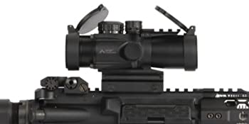 Primary Arms Compact 3x32 Generation II Prism Scope Mounted with ACSS CQB 300BLK/7.62 Reticle
