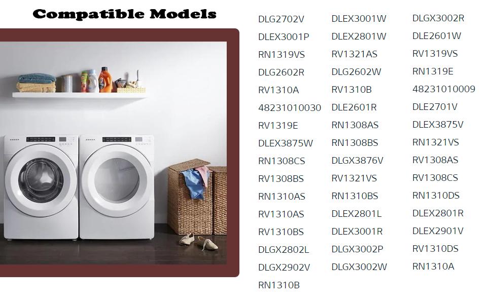 Compatible Models Dryer Lint Filter Adq56656401