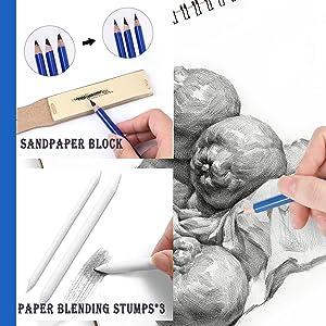 Drawing and Sketching Pencils