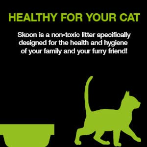skoon all natural cat litter healthy