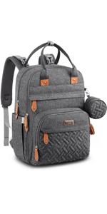 Pratical Neutral Diaper Bag Backpack