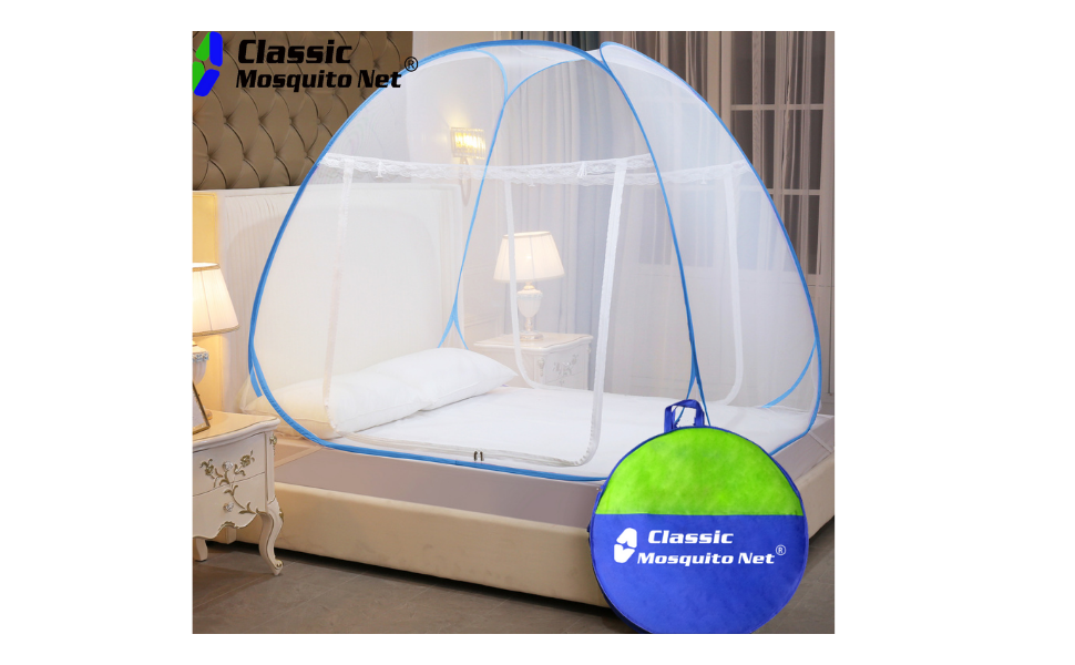 Classic Mosquito Net Polyester Foldable King Size Bed Size (
