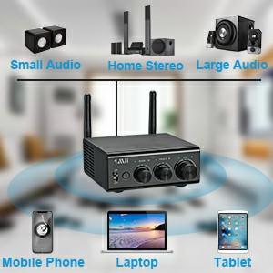 bluetooth amplifier audio receiver